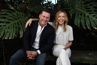 Karl Stefanovic and Allison Langdon, new hosts of Today in 2020.