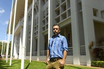 Senior Indigenous lawyer Nick Espie in Darwin on Monday.