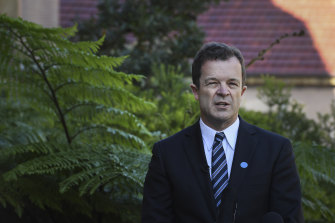 NSW Attorney-General Mark Speakman is yet to take a stance on the issue.