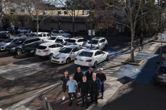 Neutral Bay Village store owners  oppose the proposed removal of a shipper car park.