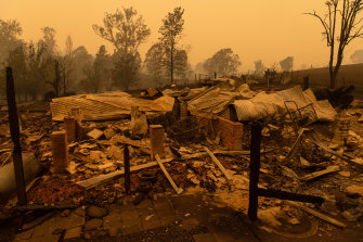 Builders in fire-hit communities say locals should get the first chance at rebuilding work.