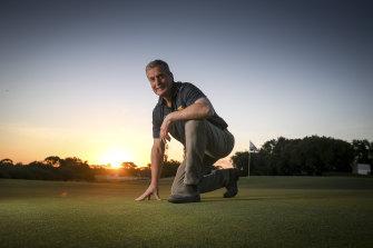 Royal Melbourne course superintendent Richard Forsyth.
