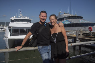 Victorian couple Ben and Michelle Carvosso from Mt Eliza, Mornington Peninsula, decided to escape lockdowns and spend eight weeks in northern Queensland.