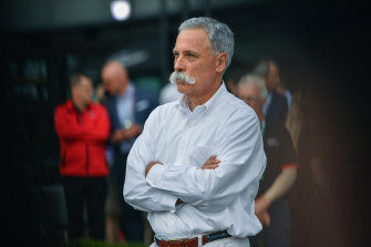 Formula One boss Chase Carey.