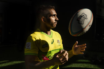 Maurice Longbottom's footwork and vision have made him one of the most potent attacking threats on the world sevens circuit.