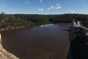 Warragamba Dam is 99 per cent full and could spill within days.