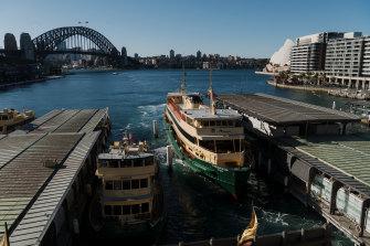 The ferry wharves at Circular Quay need a major upgrade.