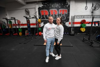 Travis and Liv Jones own RBT Gym, one of many businesses that could be affected by the High Court case.