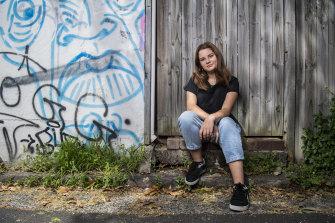 Sydney teenager Tilda, 15, uses Instagram, TikTok and Snapchat.