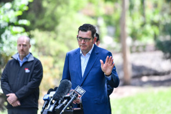 Premier Daniel Andrews called the Chinese propaganda image 'beyond the pale'.