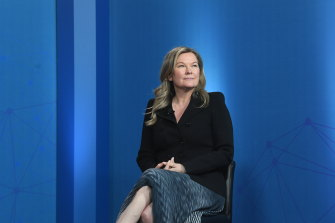 Salesforce CEO Pip Marlow is mulling a 'phased approach' to COVID-19 vaccination for her workforce.