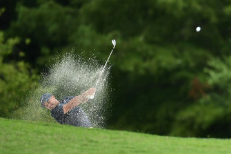 Jason Day is tied for eighth at the halfway mark of the St Jude Invitational in Memphis.