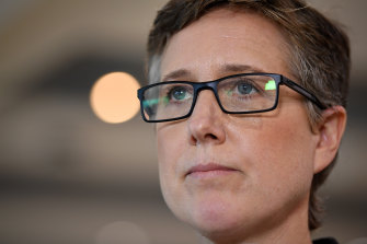 Australian Council of Trade Unions secretary Sally McManus.