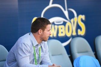 Michael Morgan is pondering his future at the North Queensland Cowboys.