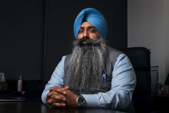 Dr Jagvinder Singh Virk says he and other members of the Indian-Australian community have been looking at ways to help bring Australians home, including potential 14-day quarantine stays in Singapore, or through organising charter flights.