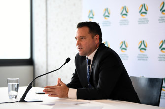 FFA chief executive James Johnson.