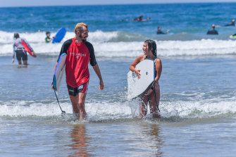 Coronavirus restrictions on the Surf Coast have eased, bringing the area into line with most of the rest of  regional Victoria.