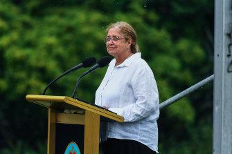 Wurundjeri elder Aunty Joy Wandin Murphy.