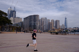 The path would link the Sydney Opera House in the heart of the city with fast-growing western Sydney.
