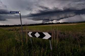 Multiple dangerous storms moved through Sydney on Thursday afternoon.