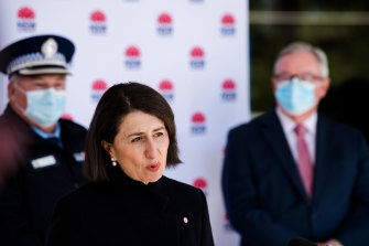 NSW Premier Gladys Berejilian has emphasised the need for residents of Greater Sydney to minimise their movements for at least another week.