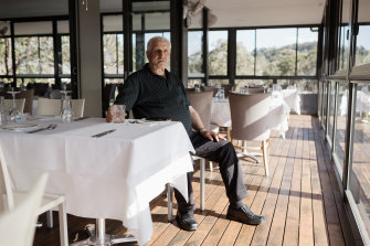 Jim Kritsotakis, owner of Limani Restaurant at Narrabeen, is struggling to find fully vaccinated staff for reopening next week.