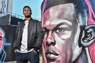Israel Adesanya is looking forward to his fight with Robert Whittaker.