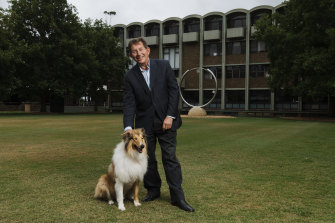 Heading back to Britain: Professor Ian Jacobs, outgoing vice-chancellor of UNSW.