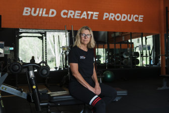 Crying out for help: Warriewood gym owner Roz Ingram says businesses like hers are on the brink.