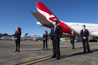 Qantas and other aviation businesses have been supported by the government.