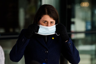 NSW Premier Gladys Berejiklian appears before the media to reveal the latest on Sydney's outbreak.