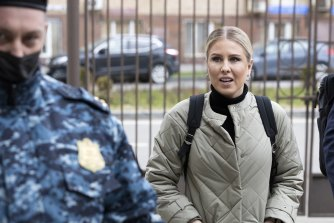 Russian opposition activist Lyubov Sobol was detained ahead of the nationwide protest in support of imprisoned Russian opposition leader Alexei Navalny.