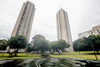 The Matavai and Turanga buildings are home to about 500 public housing residents.