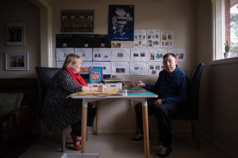 Judith McDonald says her brother, Andrew Southam, who has autism and an intellectual disability, has benefited from an environment free of restraint.