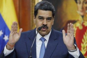 Implicated: Venezuelan President Nicolas Maduro.