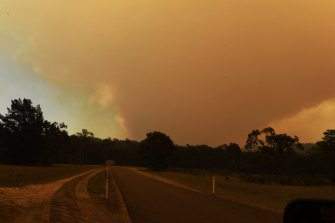 'Too late to leave': Emergency warnings for multiple bushfires across NSW