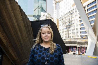 Hannah Bird, 35, is an accountant working in the CBD and living in a shared house in Newtown.