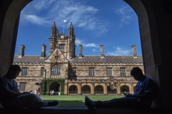 Dan Tehan has his sights set on the higher education sector.