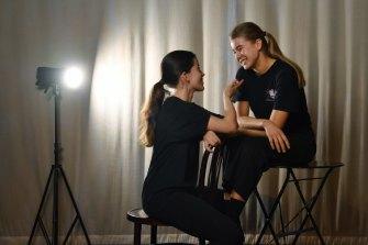 Theatre duo prepare for their 'last hurrah' in HSC drama
