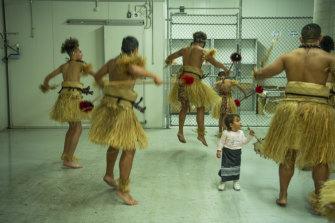 Matavai Cultural Dance troupe in Rydalmere.