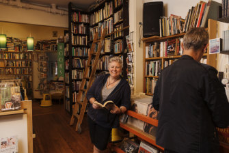 Julia Wilson, one of five owners of Desire Bookshop in Manly.