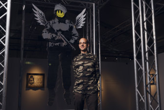 Steve Lazarides represented Banksy for 12 years before the pair had a falling out.