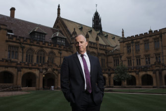 """It's a risk that we're managing, like any responsible business"": The University of Sydney's Michael Spence."