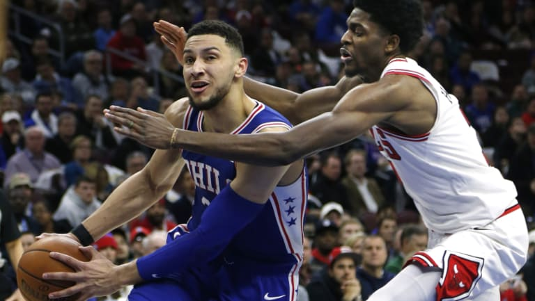 Ben Simmons has been overlooked for the NBA All-Stars again.