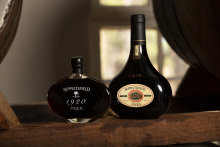 Seppeltsfield's 1920 Para Tawny. Every year the winery issues a bottling of 100-year-old Para tawny port.