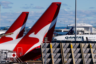 Qantas stood down an employee who raised concerns about cleaning practices early in the pandemic.