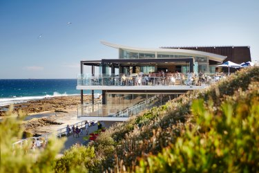 Six waterfront lunch spots worth the trip from Sydney Views to the horizon at Merewether Surfhouse