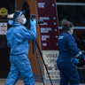 Two men fighting for life after separate stabbings in Melbourne and Geelong