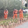 South Yarra shooting: Gunman on the run as SES continues search for evidence