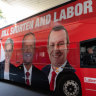 Potholes ahead for state passengers on Shorten's WA campaign bus